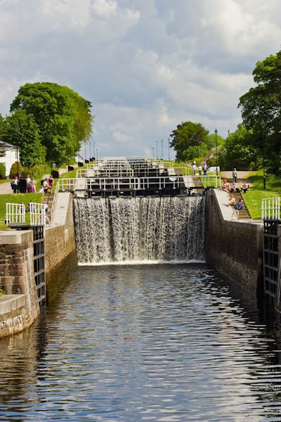 Neptune's Staircase at Banavie, Caledonian Canal